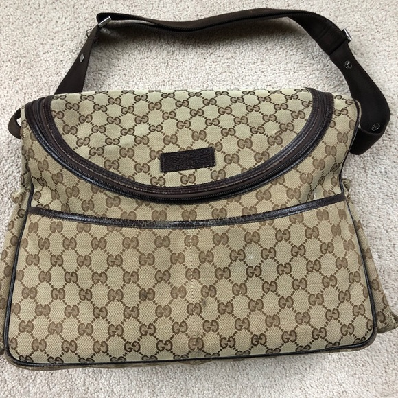 5cb206ed5833 Gucci Bags | Authentic Diaper Bag | Poshmark